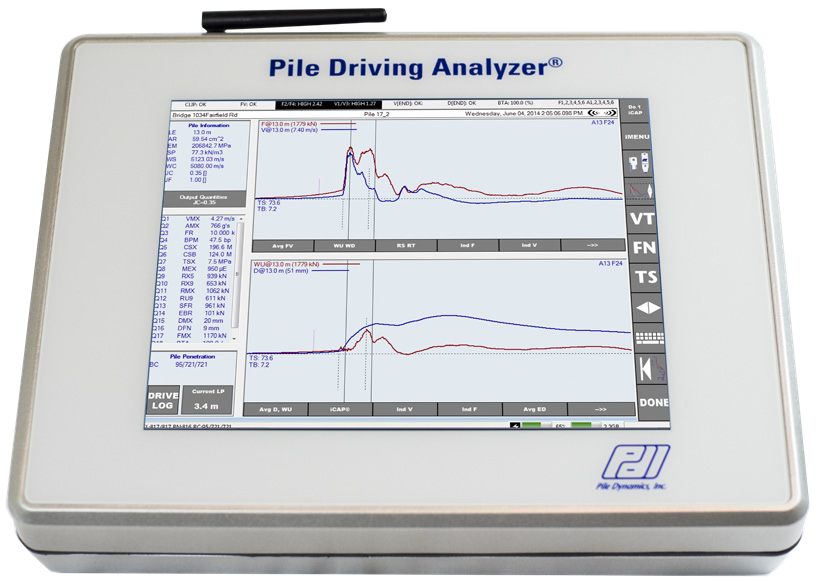 Pile Driving Analyser® PDA-8G