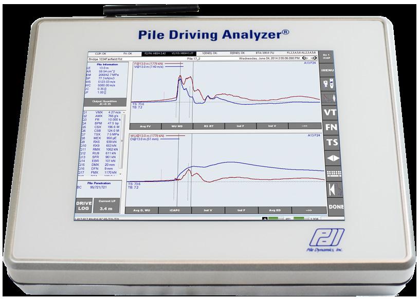 Pile Driving Analyser® PDA-8G
